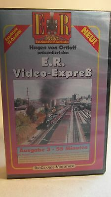 +105 Video VHS E.R. Video-Express Ausgabe 3 Eisenbahn Romantik Ortloff