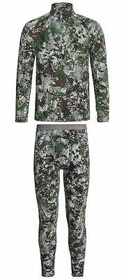 New Sitka Core 1 Base Layer Top or Bottoms Midweight Hunting Camo Merino Wool