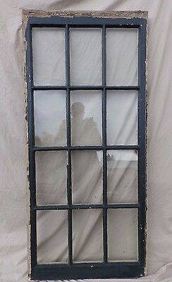 Antique 12 Lite Casement Window Sash Vintage Old 1833-16