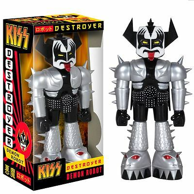 "KISS - Gene Simmons 11"" Destroyer Demon Robot Vinyl Figure (Funko) #NEW"
