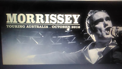 Morrissey tickets x2 Thebarton Adelaide Dress Circle J $160