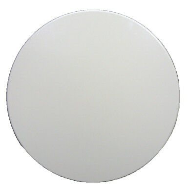 New Restaurant Cafe Outdoor Isotop Table Top Dining 70cm Round White