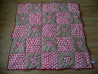 Baby quilt handmade in patchwork HALF PRICE CLEARANCE