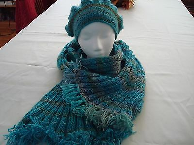 Women Handmade Hat And Scarf By Unforgettable Yarn New