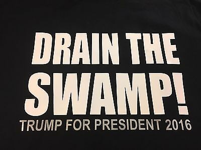 Drain The Swamp - Trump President 2020 T-Shirt - Hillary For Prison  Lock Her Up