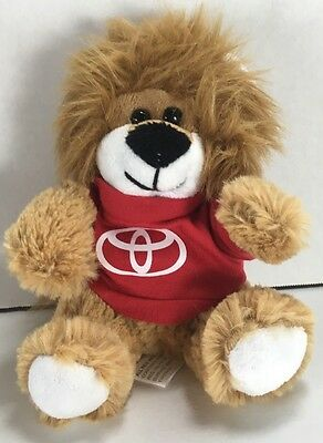 Teddy Bear in TOYOTA T-shirt Advertising Promotional Stuffed Plush EC!! KC