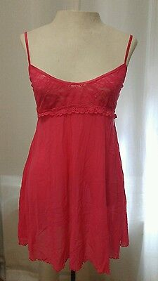 Victoria's Secret Women's Coral Slip Size Large