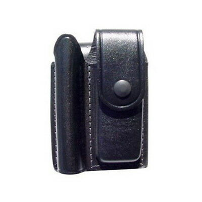 Maglite Heavy Duty Mini Mag AA Flashlight + Knife Leather Holster ~ AM2A346