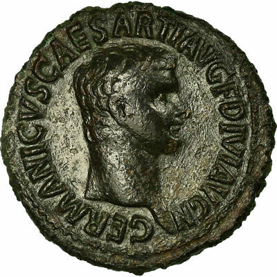 [#33815] Germanicus, As, Roma, AU(50-53), Bronze, RIC #106, 10.95
