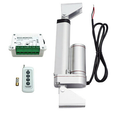 4'' 12V Heavy Duty Linear Actuator W/ Wireless Remote Controller Kit for Lifting