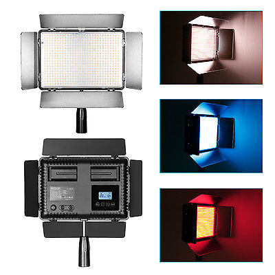 Bestlight TL-600A Built-in LCD Panel LED Video Light with Remote Controller