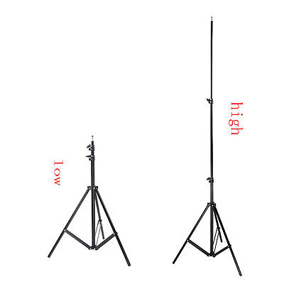 Neewer Aluminum Adjustable Photo/Video Tripod Light Stands for Studio Strobe