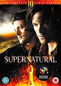 Supernatural : Season Series 10 DVD, 2015, 6-Disc Set R4