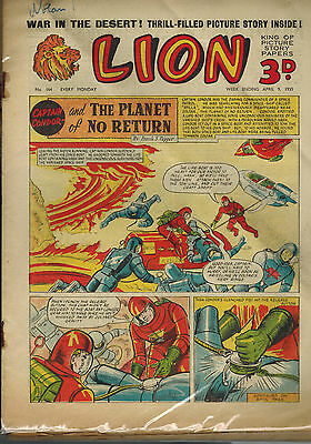 LION COMIC No. 164-171 from 1955 LOOK!
