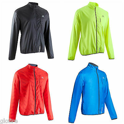 Running WINDPROOF Jacket Ultra-Lightweight COMPACT WATER REPELLENT VISIBILITY