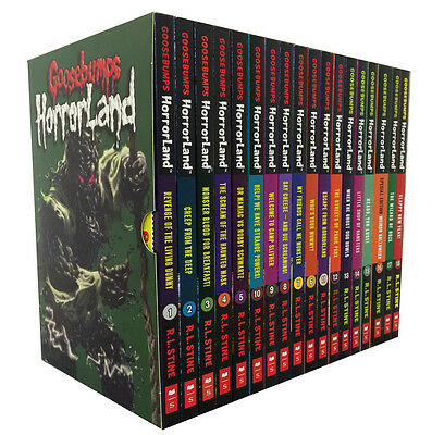 R L Stine Goosebumps Horrorland Collection 18 Books Set Revenge of the Living...