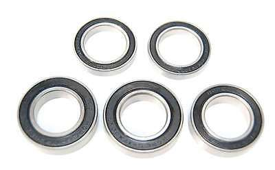 5 Pack - 6804 61804 20x32x7mm 2RS Bearings