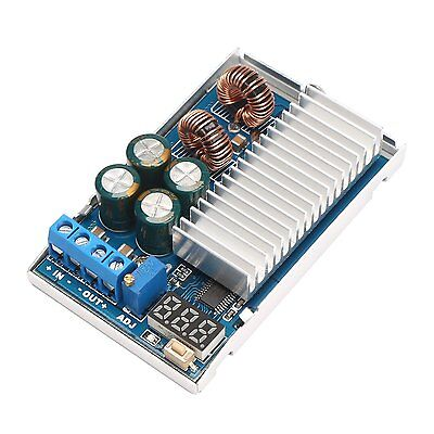 1PCS 5A/80W DC-DC Automatic lifting Buck-Boost regulator 3.3~30V to 1~33V 5v/12v