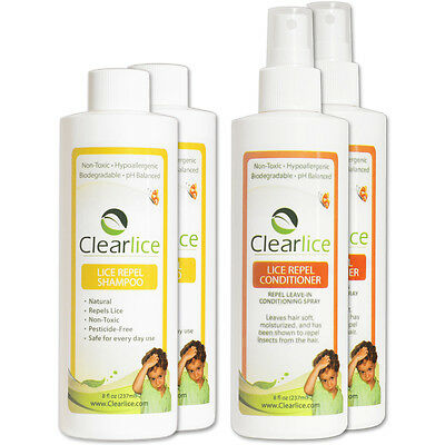 ClearLice Family Size Lice Prevention Kit