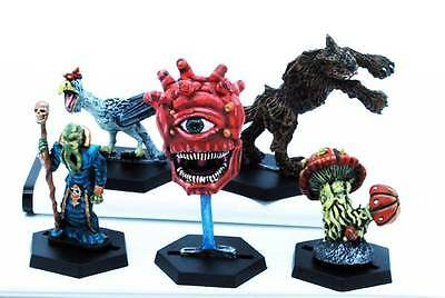 Elfsera - Dungeon Monsters (5) (painted) (28mm scale) (eM-4 Miniatures) (5 dice)