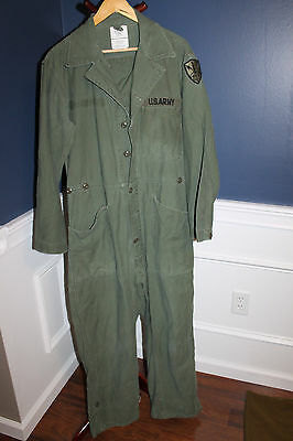 Original Gulf War I U.S. Army Tankers/Armored Troops Coveralls, Size Med & 89 'd