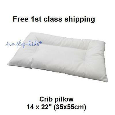 "Crib Pillow LEN PILLOW Crib Pillow Insert Soft 14x22"" Baby Pillow IKEA Children"