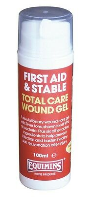 Equimins Total Care Wound Gel HORSE MUST HAVE FIRST AID BOX