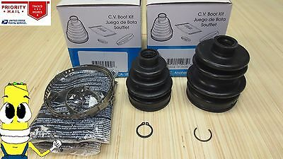 Factory Spec Lightning CV Joint Boot Kit Front Inner OR Outer compatible with 2001-2017 Honda Rubicon 500 4x4