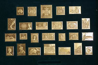 Australian Silver Proof Stamp Collection