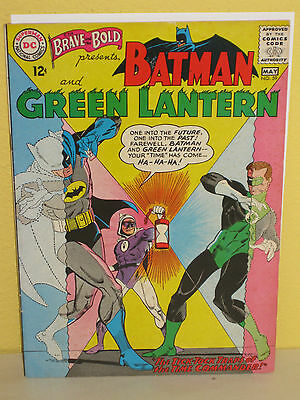 The BRAVE and the BOLD: BATMAN & GREEN LANTERN #59 - Time Commander - DC VG+