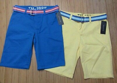 Nwt Lot Of 2  Boys Youth Tommy Hilfiger  Shorts~Sz 18