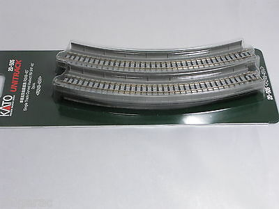 Kato n scale Unitrack Single Track Curved Viaduct R249-45° 2pcs 20-505 / n gauge