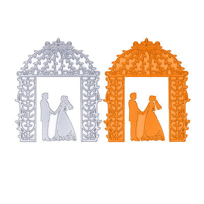 Wedding Metal Cutting Dies Stencil Scrapbook DIY Paper Cards Craft Die-Cut Craft