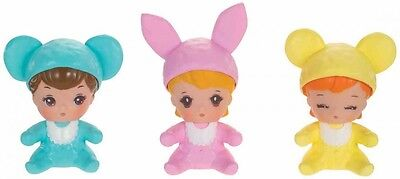 Takara Tomy LD-35 Licca Doll Baby rompers Animal Hats of Licca-chan  triplets