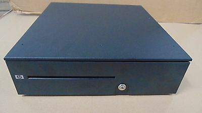 NEW Hp Heavy Duty Cash Drawer RJ45 Point of Sale POS APG W/Keys With Till NICE