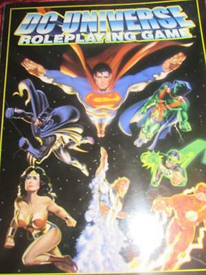DC UNIVERSE ROLEPLAYING GAME - CORE RULEBOOK. Superman Batman RARE