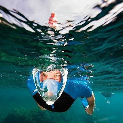 2016 Full Face Surface Diving Snorkel Scuba Mask for GoPro Swimmer