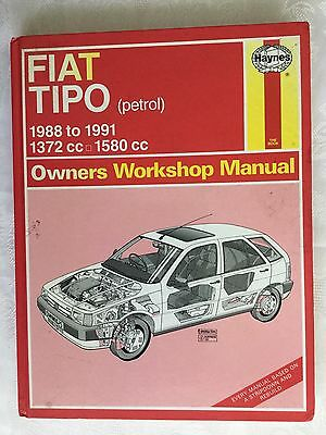 Fiat Tipo Haynes Workshop Manual