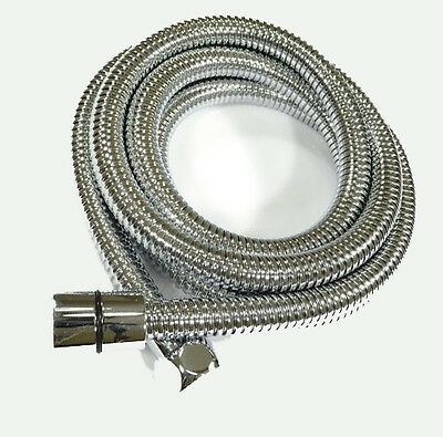 KES Replacement Shower Hose Extra Long Stainless Steel Polished Chrome