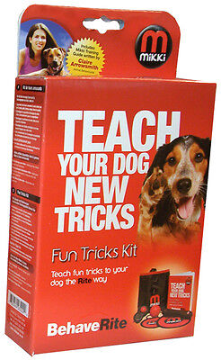 Dog Puppy Fun Tricks Kit  Target Stick Clicker Target markers Training Guide