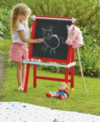 GLTC Art Easel - Red Great Little Trading Company