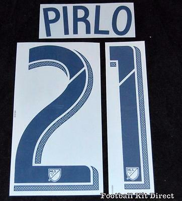 Official New York City Pirlo 21 Football Shirt Name Set Home MLS Player Size