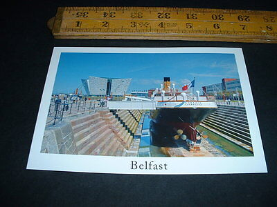 Northern Ireland  The S.s. Nomadic And Titanic Visitor Centre Belfast