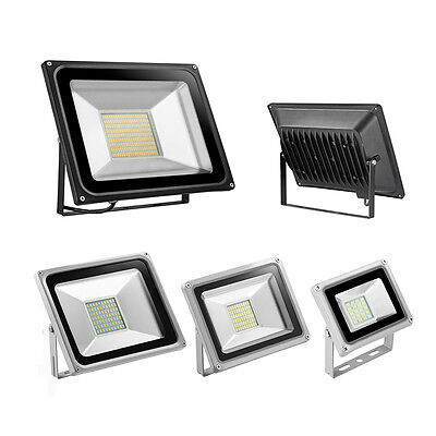 IP65 LED Floodlight 20/30/50/100W SMD Outdoor Garden Security Lights Warm Cool