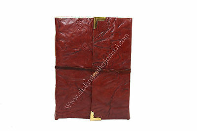 Vintage Classic Retro Leather Journal Travel Notepad Notebook Blank Diary 7X5