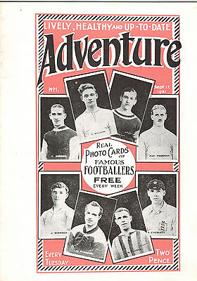 ADVENTURE COMIC No. 1 from 1921 FACSIMILE EDITION D. C. Thomson