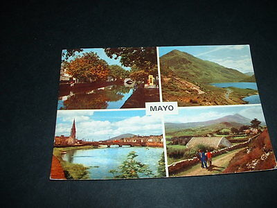 Irish Postcard Mayo Ireland