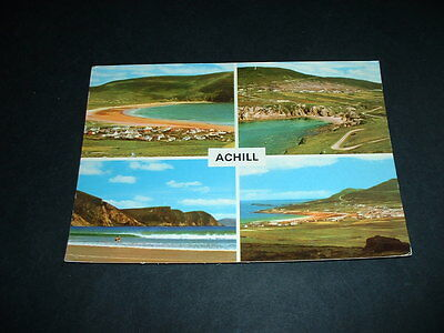 IRISH POSTCARD ACHILL Co  MAYO IRELAND