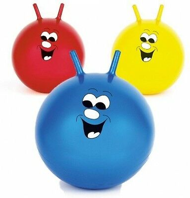 20 Jump N Bounce Space Hopper Retro Ball Outdoor Toy Blue Red Or Yellow