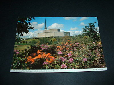 Irish Postcard Basilica Of Our Lady Queen Of, Ireland Knock Ireland